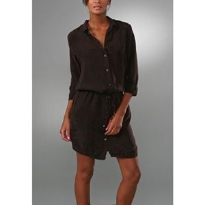 James Perse Drawstring Shirtdress